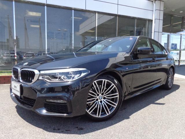 BMW 523i MスポーツハイラインPアイボリー革デモカー認定車