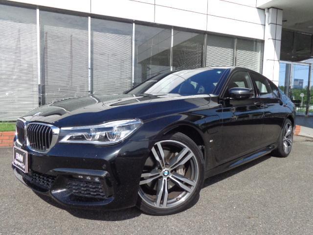 BMW 740e Mスポーツ20AWモカ革SRハーマンカードン認定車