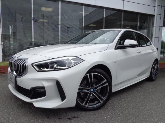 BMW 118i MスポーツコンフォートP電動シートデモカー認定車