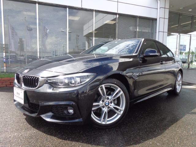 BMW 420iグランクーペMスピリット18AW純正DTV認定中古車