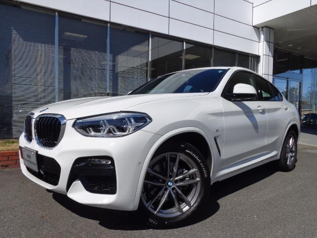 BMW X4 xドライブ20d Mスポーツ黒革ベンチレーションデモカー