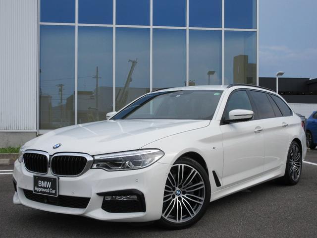 BMW 523iツーリング Mスポーツ ブラックレザーシート シートヒーター 19AW ウッドパネル ACC Fドラレコ 禁煙 弊社ワンオーナー