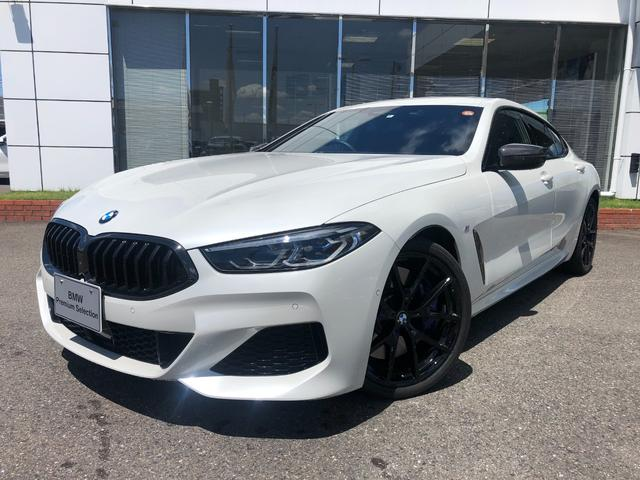 BMW 840d xDrive グランクーペ Mスポーツ Mテクニックスポーツパッケージ ブラックレザー カーボンミラーカバー 禁煙 ワンオナ