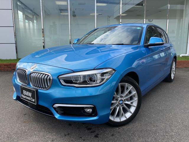 BMW 118d ファッショニスタ LEDヘッドライト オイスターレザー シートヒーター アクティブクルーズコントロール 17AW 禁煙