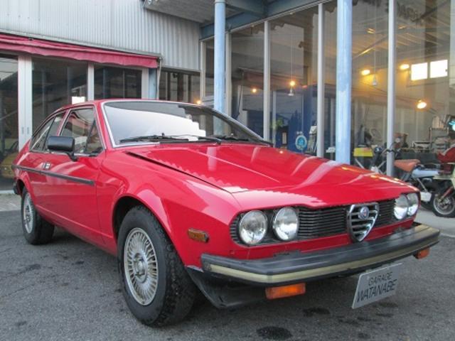 アルファロメオ GT 2000GT  ワンオーナー 車庫保管 一見の価値あります 国内希少車 実走行