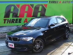 BMW120i社外SDナビTV純正17AWキセノンHユーザー買取車