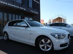 BMW116i スポーツ ディーラー車 右H 純正ナビ 禁煙車