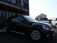 VW ザ・ビートルデザインSDナビTV右ハンドルディーラー車HIDライト禁煙車