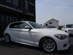 BMW116i Mスポーツエアロ17AWワイドナビBカメラHID