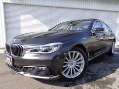 BMW740iプラスP19AWアイボリー革SRヘッドUP認定中古車