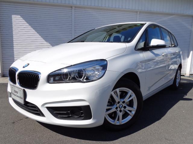 BMW 2シリーズ 218iグランツアラーコンフォートPデモカー認...