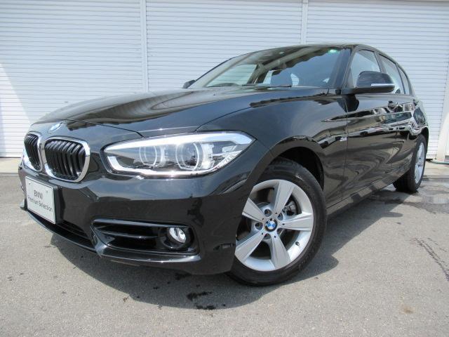 BMW 118dスポーツ16AWパーキングサポPデモカー認定中古車