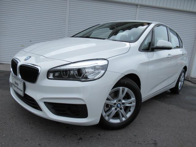 BMW 218dアクティブツアラーLEDデモカー認定中古車