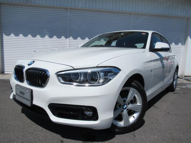 BMW 118dスポーツ16AWクルーズコントロール認定中古車