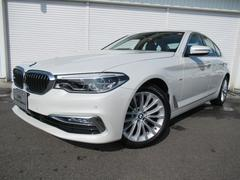 BMW523d ラグジュアリー黒革デビューPデモカー認定中古車