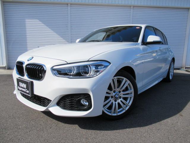 BMW 118i MスポーツコンフォートPサポート1オナ認定中古車
