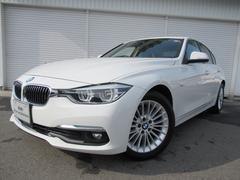 BMW320d ラグジュアリー黒革ACC社外DTV禁煙認定中古車