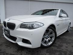 BMW523d Mスポーツ18AWウッド電動トランク禁煙認定中古車