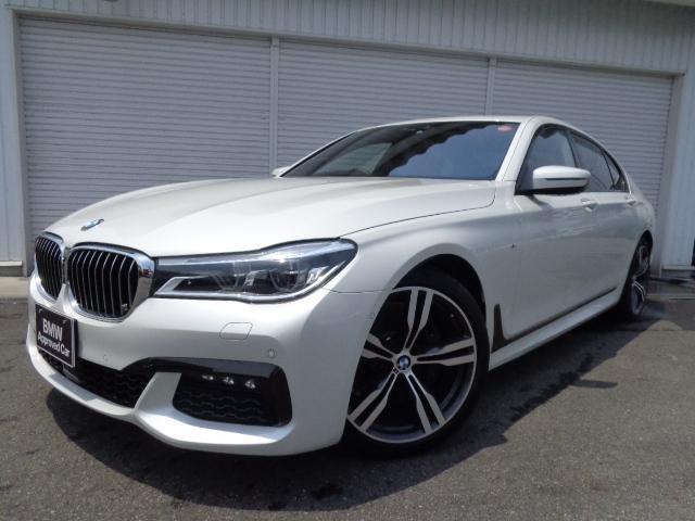 BMW 740i Mスポーツ20AW黒革リモートP1オナ認定中古車