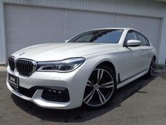 BMW740i Mスポーツ20AW黒革リモートP1オナ認定中古車