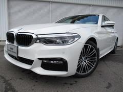 BMW530i MスポーツデビューP黒革19AWデモカー認定中古車