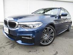 BMW530iツーリングMスポーツデビューPベージュ革19AW禁煙