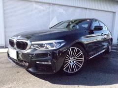 BMW523d Mスポーツ19AWイノベーションP黒革禁煙認定車