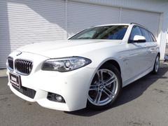 BMW523dツーリングMスポーツ18AWウッドACC認定中古車