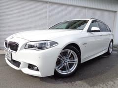 BMW523iツーリングMスポーツハイラインLED黒革ACC禁煙
