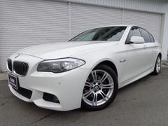 BMW528i Mスポーツ左H黒革18AW直4TB1オナ認定中古車