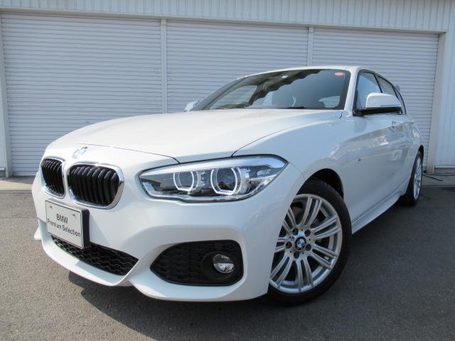 BMW 118i Mスポーツ17AWクルコンデモカー認定中古車