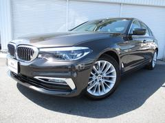 BMW523d ラグジュアリー黒革イノベPコンフォートP認定中古車