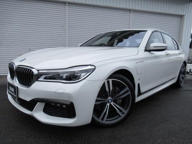 BMW 740eアイパフォーマンスMスポーツ20AW黒革認定中古車