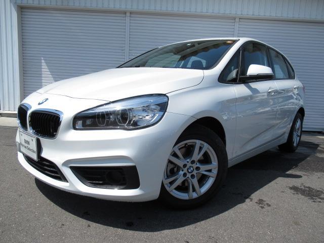 BMW 218dアクティブツアラー16AWLEDデモカー認定中古車