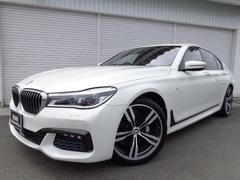 BMW740i Mスポーツ20AWコニャック革レーザーライト認定車