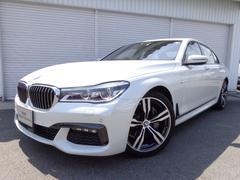 BMW740i Mスポーツ20AWコニャック革リヤコンフォートP