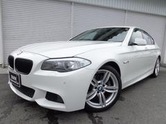 BMW523d Mスポーツ19AW黒革ウッド禁煙1オナ認定中古車