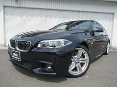 BMW535i Mスポーツ19AW黒革SRナイトV社外DTV1オナ