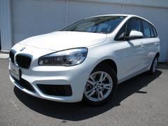 BMW218dグランツアラーETCデモカー認定中古車