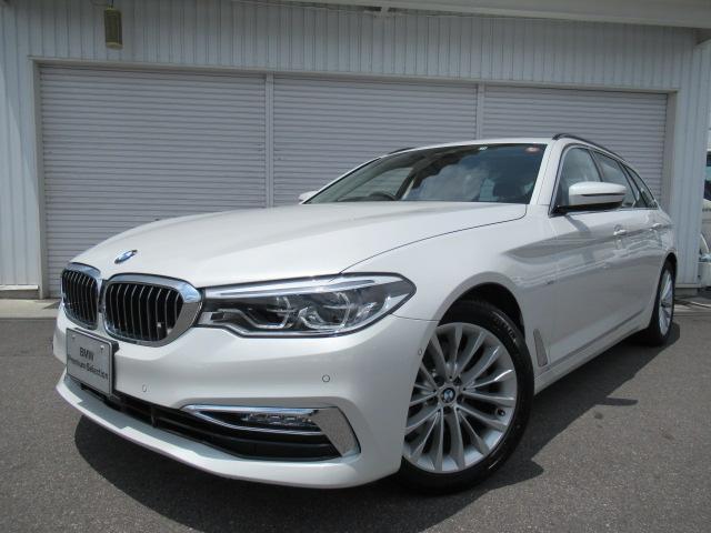 BMW 523dツーリングラグジュアリー黒革デビューP認定中古車