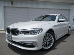 BMW523dツーリングラグジュアリー黒革デビューP認定中古車