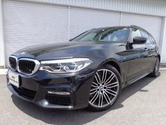 BMW523dツーリングMスポーツ19AWハイライン黒革認定中古車
