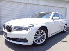 BMW740i Plus−Pアイボリー革SRヘッドUP1オナ認定車