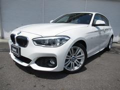 BMW118d Mスポーツ17AWパーキングサポート禁煙認定中古車