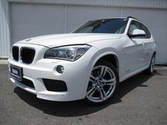 BMW X1sDrive20i Mスポーツ黒革純正HDDナビBカメラ禁煙