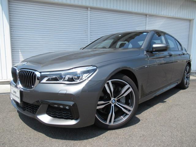BMW 740i Mスポーツ20AW黒革デモカー認定中古車