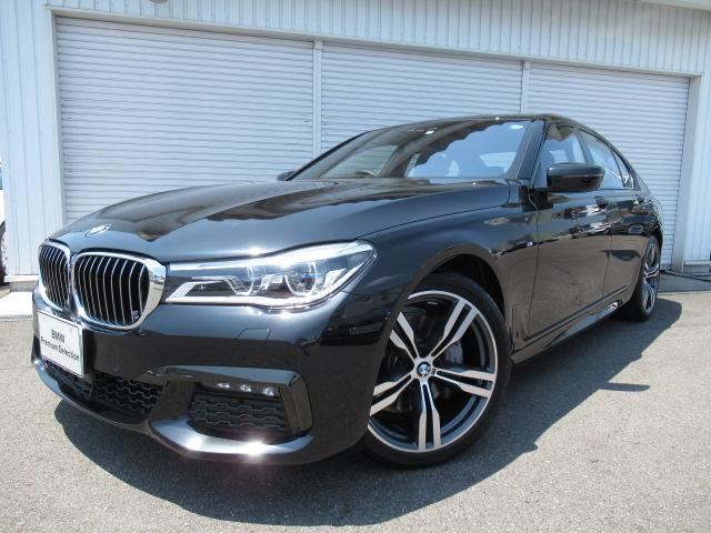 BMW 740d xドライブMスポーツ20AW黒革デモカー認定中古車