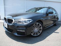BMW523iツーリングMスポーツハイライン黒革19AW認定中古車