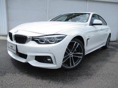 BMW420iグランクーペMスポーツ後期19AWデモカー認定中古車