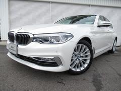 BMW530eラグジュアリーアイパフォーマンスSR黒革認定中古車